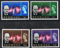 Bermuda SG189-192 1966 Churchill Commemoration set 4v complete unmounted mint